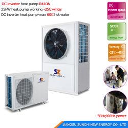 25c cold winter house heating 10kw15kw20kw25kw evi geothermal ground - Heat Pump Prices