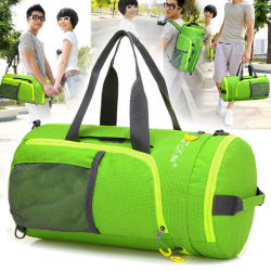 Fashion Duffel Travel Sport Weekender Bag with One Pouch