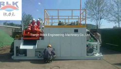 Underground Wall Slurry Balance Pipe Jacking Drilling Mud Recovery System