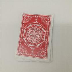 Factory Custom Self-Created Brand Black Core Playing Cards
