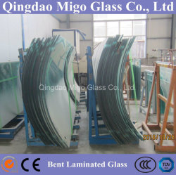 6.38-54.08mm Flat/Curved Decorative Tempered Safety Building Laminated Glass