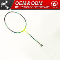 Custom Logo Carbon Fiber Racket Badminton Set for Sport
