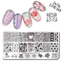 China Nail Art Stamping Plates Nail Art Stamping Plates