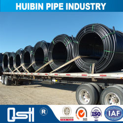 HDPE Gas Blastic Pipe for Cold Areas with Tee