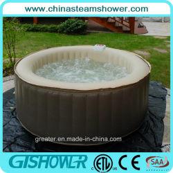 8 Person Folding Portable Outdoor SPA Bathtub, 130 Bubbles Massage Bathtub  (pH050014)