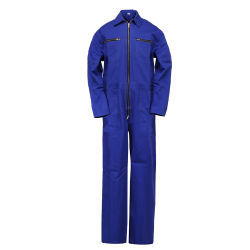 OEM Service Workwear Manufacturer 100 Cotton Fire Retardant safety Coverall