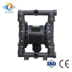 "2018 Shanghai Haoyang Slurry Pneumatic Pump Water Mud Aluminum Pump Air Double Diaphragm 1"" Pump"