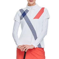 OEM Service Wholesale Sports Women Polo Golf Shirt