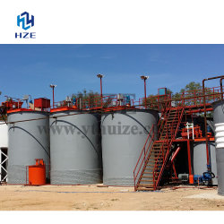 Slurry Mixer Leaching tank for Gold Counter Current Decantation Circuit (CCD Process)