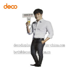 Pop Paper Cardboard Standee Design for Product Promotion