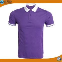 Factory Wholesale Men Sport T-Shirts Stretch Polo Shirts
