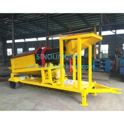 Sinolinking Portable Gold Leaching Equipment Alluvial Gold Mining Equipment