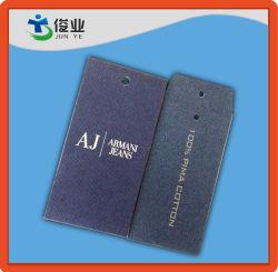 Custom Luxury Garment Paper Hang Tag with Logo