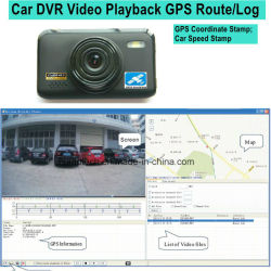 2017 New ID 2.7inch Car DVR with GPS Tracking Route Car Dash Camera by Google Map Playback, GPS Logger Car Digital Video Recorder DVR-2709