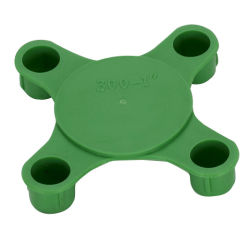 4 Bolt-Hole Plastic Flange Cover