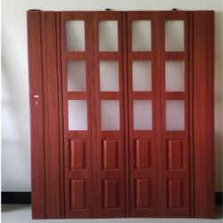 Wood or Wine Glass PVC Folding Door