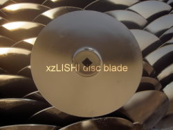Flat Disc Blade Manufacture Supplier - Round Flat Center, Square Center Hole