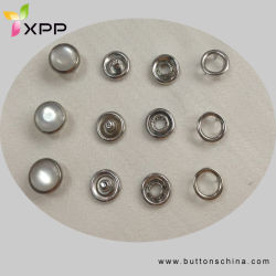 Garments Accessories Pearl Cap Prong Snap Button