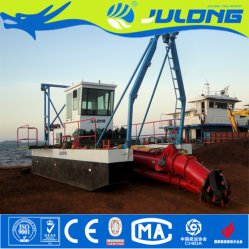 China Low Price Cutter Suction River Sand Dredger / Sea Dredgeing Machine for Sale