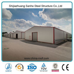 Prefab Light Metal Warehouse Grain Storage Shed for Agriculture