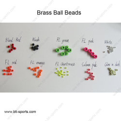 Wholesale Fly Fishing Tying Brass Beads Ball Style