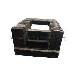 Heavy Duty Rubber Wheel Stopper Rubber Truck Stopper Rubber Wedge