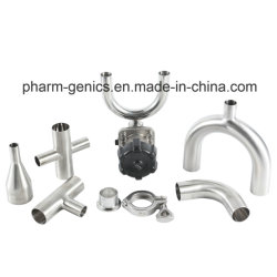 Ss 304 Stainless Steel 3A Tee Sanitary Welded Pipe Fitting
