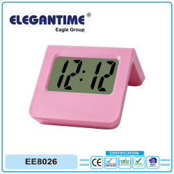 Low Price Home Table LCD Clock for Gift Promotion