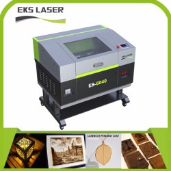 Automatic CO2 Metal Wood Acrylic Nonmetal of New Top Quality of CO2 Laser Cutting Machine Es-6040