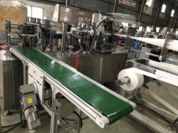 Awp-260 Automatic Alcohol Prep Pad Making Machine with Automatic Collection
