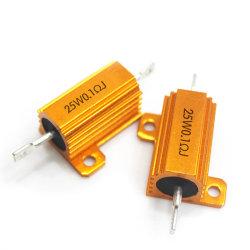 Rx24 500W 100W Aluminium Shell Gold Wirewound Resistor