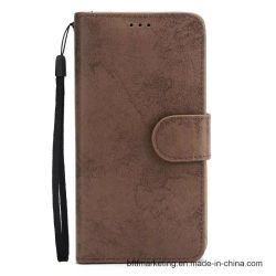 Magnetic Attached PU Leather Wallet Phone Case for iPhone X