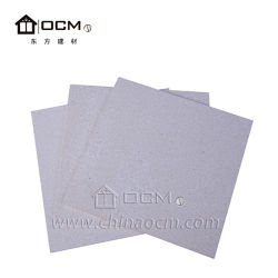 Ce ISO Approved No Chloride Magnesium Oxide Fireproof Materials Board Wall Panel