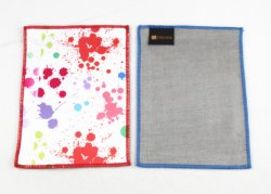 Wholesale Good Quality Hot Transfer Printing Microfiber Cleaning Cloth