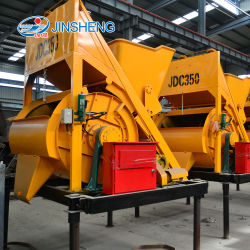 Construction Equipment (JDC-500) Electric Horizontal Axis Concrete Mixer for Sale