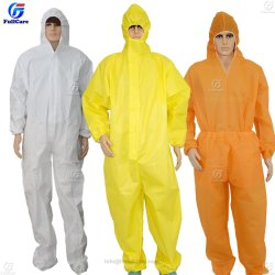 32d5d28d077c Disposable Nonwoven  Protective Lightweight Painters Workwear Work Protective Clothing Reflective