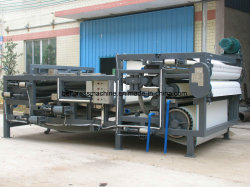 Belt Width 2.5 Meter Integrated Belt Press Machine with Thickener