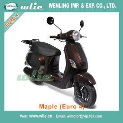 Motorcycle Moped Motorbike Gas 49cc 50cc Petrol Motor Gasoline Retro EEC & Coc Scooter Maple 50