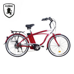 Stylish Design 26'' Li-ion Battery Electric Assist Mountain Road Bike Price OEM