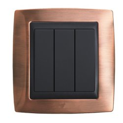 One Gang Double Control Wall Switch