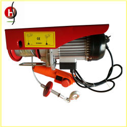 pa600-1200 mini electric wire rope hoist for lifting tools