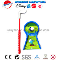 Plastic Outdoor Indoor Kid Golf Sport Toy Game Set with En71 Certificate