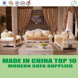 Luxury French Baroque Leather Dubai Lounge Sofa Furniture