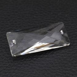 Chandelier Lighting Lamp Crystal Glass Rectangle Prisms Parts