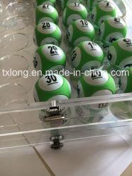 Bingo Balls Keno Ball Drawing Ball Case Acrylic Ball Set