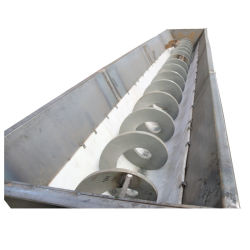 Professional Manufacture Shaftless Screw Conveyor for Slurry Mud and Wastewater Treatment