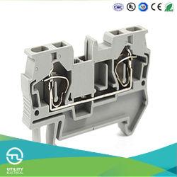 Rail Mounted UPS Plastic DIN-Rail Terminal Blocks