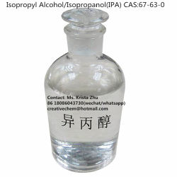Isopropyl Alcohol 99.98%/Isopropanol/Ipa CAS No: 67-63-0