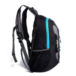 Headphone Hole Men's Backpack Sports Backpack Leisure Travel Outdoor Mountaineering Student School Bag