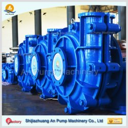 Heavy Duty Horizontal Centrifugal Coal Wear Resistant Discharge Mining Slurry Pump